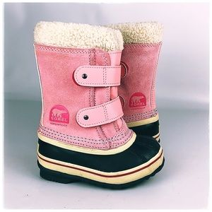 Sorel Girls Pink Winter Boots